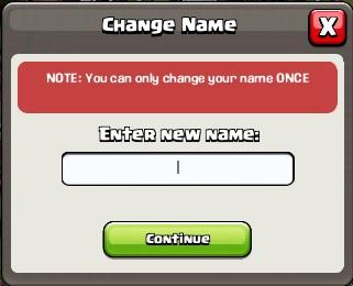 Change name 1