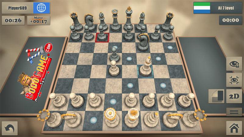 بازی آنلاین Real Chess ، بازی شطرنج واقعی