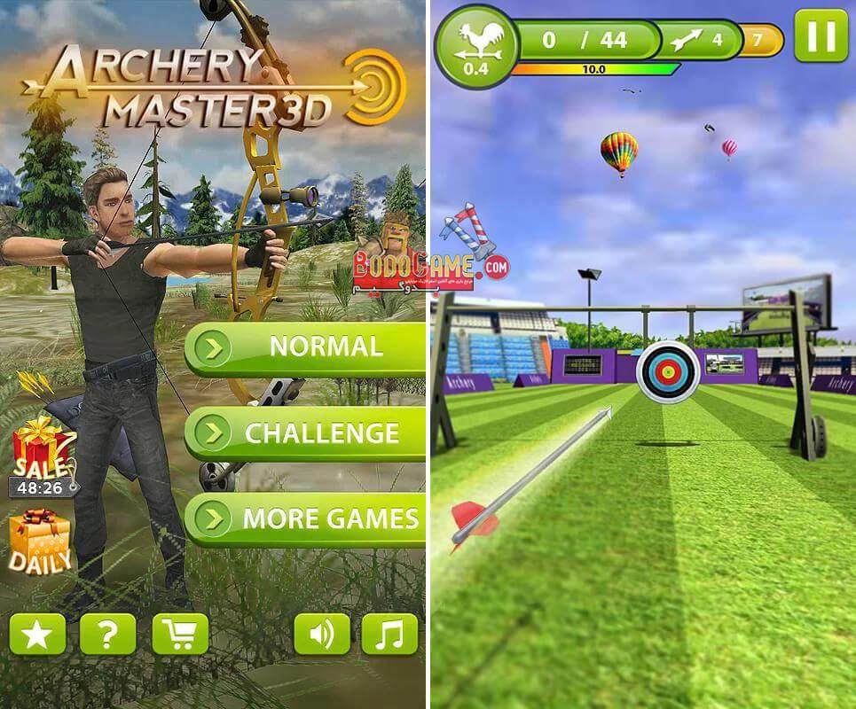 نقد و بررسی بازی Archery Master 3D