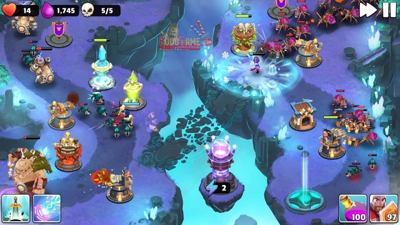 نقد و بررسی بازی Castle Creeps