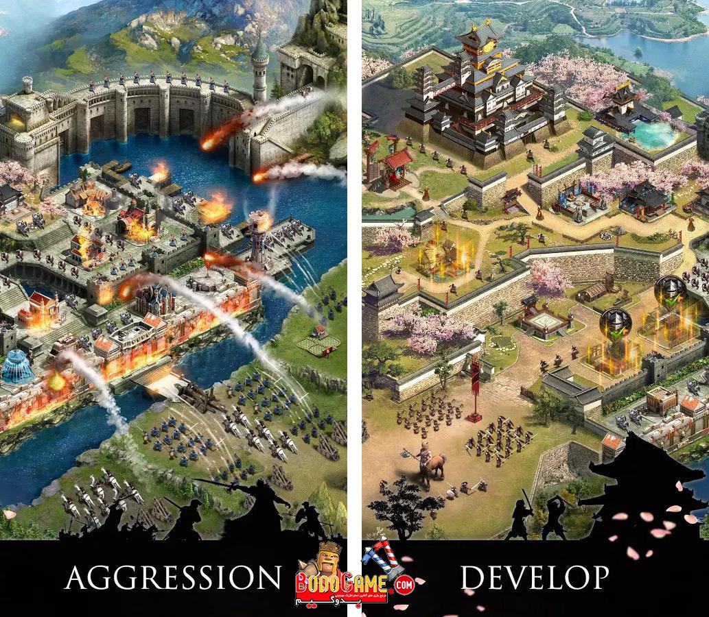 نقد و بررسی بازی Clash of Kings