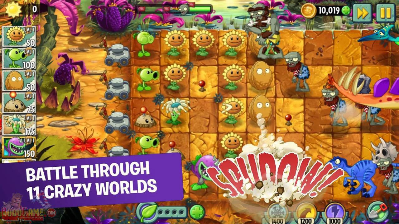 نقد و بررسی بازی Plants vs. Zombies 2