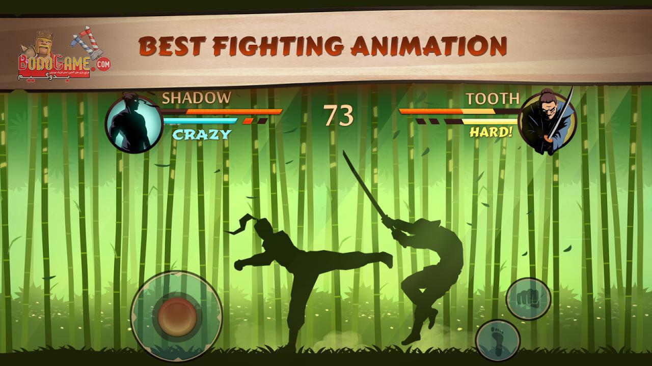 نقد و بررسی بازی Shadow Fight 2