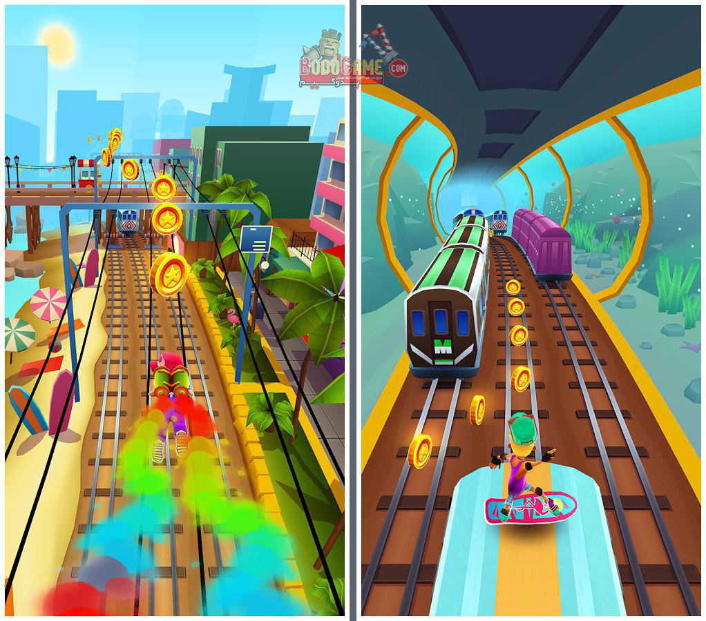 نقد و بررسی بازی Subway Surfers