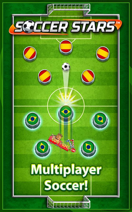 بازی آنلاین Soccer Stars