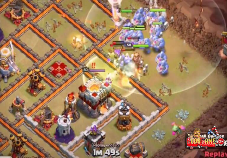 استراتژی حمله 3 ستاره BoWitch