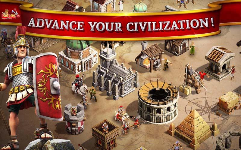 دانلود بازی استراتژیک آنلاین Battle Ages