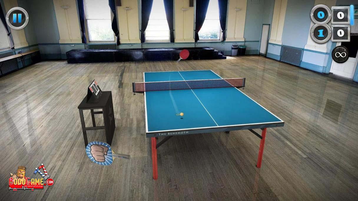 بازی تنیس روی میز Table Tennis Touch