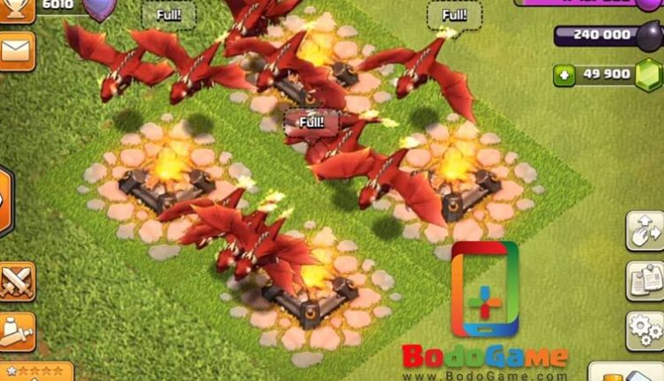 Dragon-level-7-clash-of-clans-Bodogame