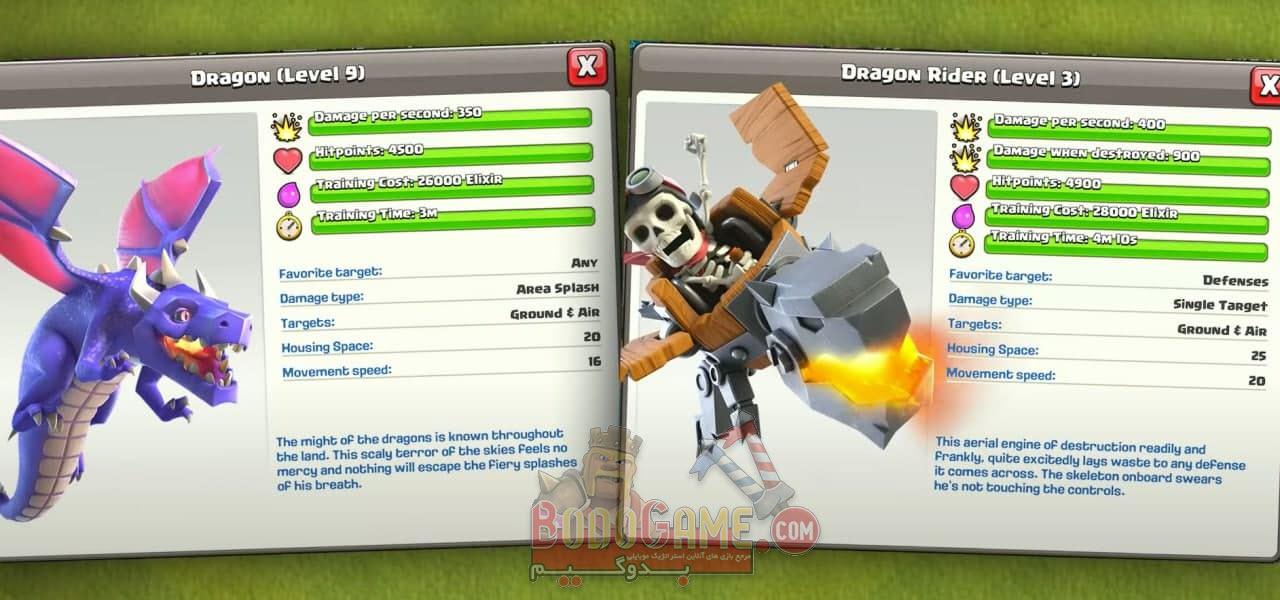 Dragon-Rider-clash-of-clans